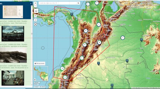 Navigae : Plateforme de recherche et de visualisation cartographique