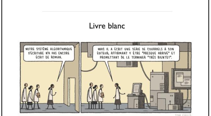 L'intelligence artificielle dans le monde du livre – Livre blanc